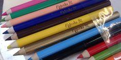 kredki z nadrukiem dla dzieci do przedszkola lub na prezent