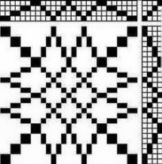 Block Design - Overshot on 4 shaft, tutorial on designing overshot, and second page gives instructions on the weaving order Weaving Designs, Weaving Projects, Weaving Patterns, Tablet Weaving, Loom Weaving, Hand Weaving, Weaving Textiles, Tapestry Weaving, Chart Design