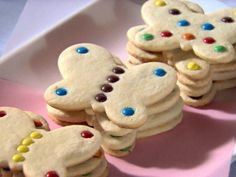 Butterfly Cookies recipe from Sandra Lee via Food Network