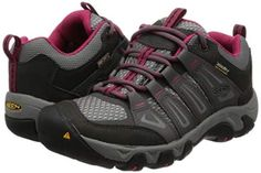 KEEN Women's Oakridge Waterproof Shoe *** More info could be found at the image url. (This is an affiliate link) Best Waterproof Shoes, Shoe Manufacturers, Thick Socks, Keen Shoes, Wide Feet, Hiking Shoes, Amazing Women, Boots, Sneakers