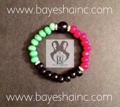 Africonic ~ Beaded Bracelet Set