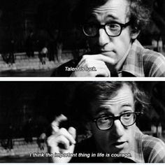 Woody Allen · my fav director Cinema Quotes, Film Quotes, Edgy Quotes, Woody Allen Quotes, Movie Lines, Film Stills, Good Movies, Wise Words, Inspirational Quotes