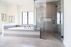 Tiled Showers, Master Bath Shower, Shower Doors, Backsplash, Bathrooms, Bathtub, Relax, Flooring, Decor