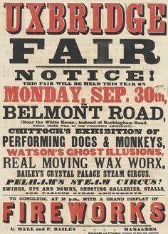 Картинки по запросу victorian circus poster
