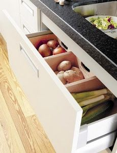 Guardar verduras