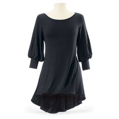 Long Cuffed Tunic - New Age, Spiritual Gifts, Yoga, Wicca, Gothic, Reiki, Celtic, Crystal, Tarot at Pyramid Collection