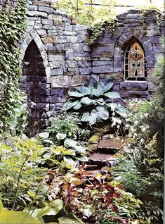 HIDDEN TREASURES – Amongst some of Hoboken's most beautiful and well-hidden gardens is this one, which sports gothic ruins and a waterfall. ...
