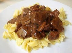 Baked Beef Tips And Noodles Recipe