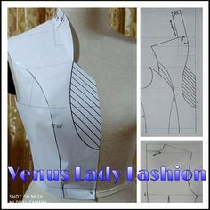 Best 12 Fantastic sewing hacks are available on our internet site. look at this and you wont be sorry you did. Pattern Draping, Bodice Pattern, Collar Pattern, Dress Sewing Patterns, Blouse Patterns, Clothing Patterns, Techniques Couture, Sewing Techniques, Textile Manipulation