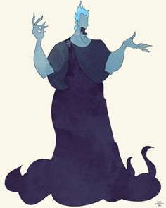 Disney's Hercules Hades by thatgregorygirl on Etsy