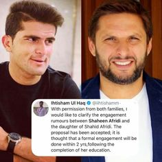 Shahid Afridi Confirms Daughter And Shaheen Afridi Engagement Rumours Shahid Afridi, Proposal, The Creator, Daughter, Thoughts, Engagement, Education, Youtube, Engagements