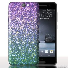 Coque HTC ONE A9 Strass Mauves - Etui, Housse. #HTC #A9 #Strass #Coque #Etui