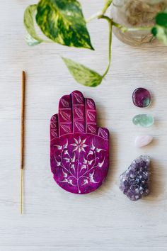 Tree of Life | Hamsa Incense Holder