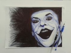Portrait of Joker by Giovanna Caggese