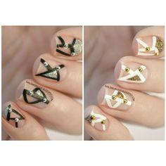 Silver VS Gold  Studs from @bornprettystore ❤️ Their product ID is #17227 Use my coupon code '' NWDW10 '' to get 10% off. For more photos and details read it on nailsworlddd.blogspot.com #nail #nails #nailart #nailblog #nailcare #nailsdid #nailsalon #nailsbyme #nailsdone #nailslove #nailstyle #naildesign #nailpolish #nailsaddict #nailstud #nailtutorial #νυχια #μανικιουρ #nails2inspire #nailsoftheday #greekbloggers #fashion #studs