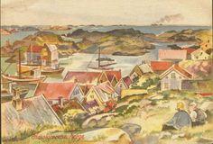 Lærdalkort 47. Havskjærene, Norge. Usign.
