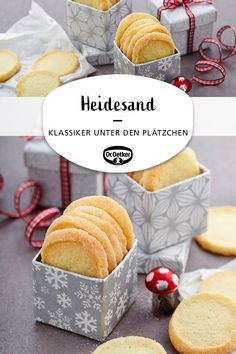 Heather sand - Heidesand: crispy cookies for Christmas cookies You are in the right - Cookie Recipes From Scratch, Healthy Cookie Recipes, Oatmeal Cookie Recipes, Chocolate Cookie Recipes, Peanut Butter Cookie Recipe, Sugar Cookies Recipe, Chocolate Chip Cookies, Cupcake Recipes, Baking Cookies