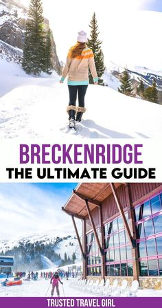 Breckenridge The Ultimate Guide. This is the Ultimate Guide to Breckenridge Colorado in Winter! What to do in Breckenridge, Colorado - from skiing, snowshoeing, snowboarding, tubing and more! Explore Breckenridge with this list of top things to do, where to stay and where to eat. | Colorado in Winter | Breckenridge in Winter | Colorado trip | things to do in Breckenridge | things to do in Colorado | Colorado travel guide | Winter Travel | Best Travel Guides, Usa Travel Guide, Travel Usa, Travel Tips, Breckenridge Ski Resort, Breckenridge Colorado, Winter Destinations, Travel Destinations, Usa Road Map
