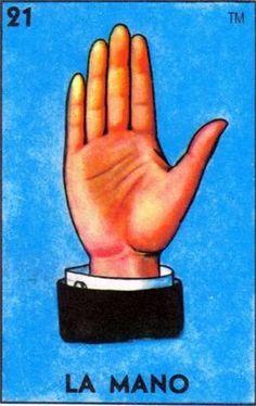 """21  La Mano  (The Hand)   """"La mano de un criminal."""""""