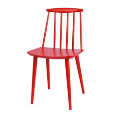 J77 modern windsor chair by Folke Pålsson. Denmark. Originally made for FDB, now manufactured by Hay.