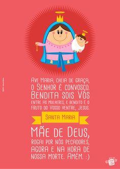 Oração da Ave Maria - Na Casa da Joana