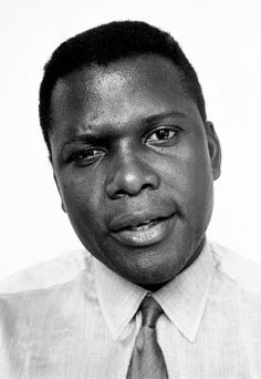 Sidney Poitier photographed by Brian Duffy, 1965.