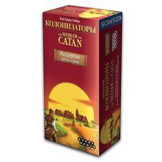 Catan expansion board game, boardgame, Hobby World, Колонизаторы, расширение для 5-6 игроков, настольная игра, Мир Хобби