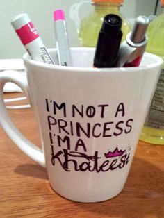 I'm not a princess, I'm a Khalessi Game of Thrones Mug !!!!!!!!!!!!!!!!!!!!!!!!!!!!!!!!!!!!!!!!!!!!!!!!!