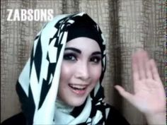 Hijab Tutorial How To Wear SCARF/ SHAWL/ PASHMINA/ HIJAB - EASY SIMPLE FOR BEGINNER #1