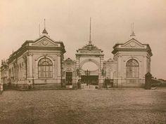 1902 - Hospital de Isolamento (local atual hospital Emilio Ribas na avenida Doutor Arnaldo.
