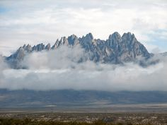 Organ Mountains, Las Cruces, New Mexico. I'll get to see these every day! New Mexico Style, New Mexico Homes, New Mexico Usa, Us Road Trip, New Mexican, Land Of Enchantment, Old Photos, Beautiful Places, Scenery