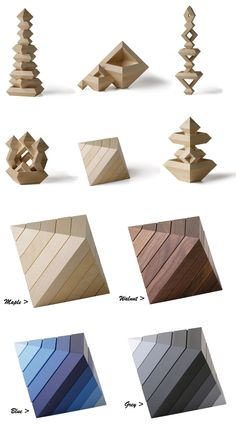 Naef Diamant Wooden Diamond Construction Toy | NOVA68 Modern Design