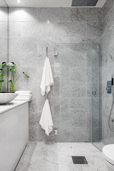 After the main function has been done, bathroom interior design is the second variable that should be considered seriously, because the bathroom design you choose will affect your mood everyday. Bathroom Toilets, Bathroom Renos, Laundry In Bathroom, Grey Bathrooms, Beautiful Bathrooms, Modern Bathroom, Bathroom Ideas, Bathroom Vanities, Bathroom Marble