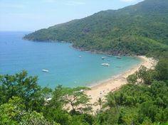 Praia do Jabaquara - Ilha Bela