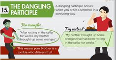 15 Grammar Goofs That Make You Look Silly - Marketing Infographic
