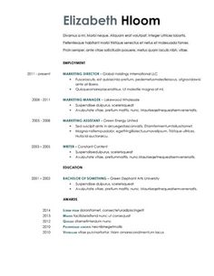 461 Best Resume Templates And Samples Images Simple Cv Template