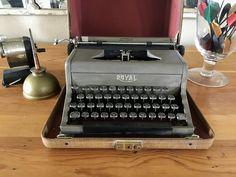 Your place to buy and sell all things handmade Royal Typewriter, Working Typewriter, Typewriter For Sale, Antique Typewriter, Portable Typewriter, Rancho Cucamonga, Vintage Typewriters, Copper Color, Model