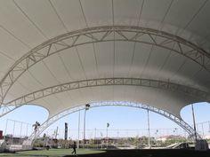 Outstanding Achievement Award Freestanding Structures, More Than 92 Square Meters (1000 Square Feet) Parque La Jabonera Dünn Arquitectura Li...