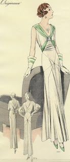 .História da Moda.: Anos 30: Crise e Glamour