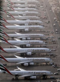 Somebody must have opened a can of Emirates planes!