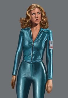 Erin Gray as Wilma Deering, Buck Rogers in the 25th Century.