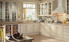 Abbinamento colori pareti cucina - Abbinamento bianco e verde con ...