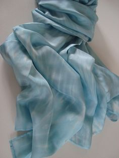 Long Habotai Silk Scarf by angierichardson on Etsy
