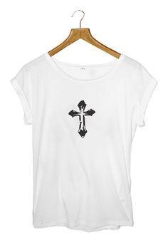 JUSTIN BIEBER CROSS TATTOO T-shirt