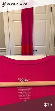 Pink and orange mossimo maxi dress Pink and orange mossimo maxi dress. Size 4 Mossimo Supply Co. Dresses Maxi