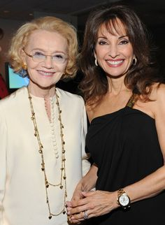 Susan Lucci and Agnes Nixon at event of All My Children