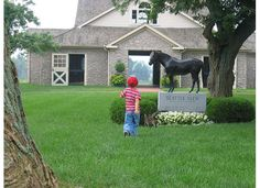 Seattle Slew about to get a visitor