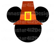 Thanksgiving Mickey Pilgrim DIY Printable Iron On Transfer Digital File