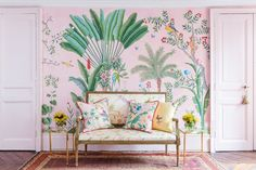 This Wallpaper Collection May Be the Most Beautiful Thing You'll See This Spring - Vogue