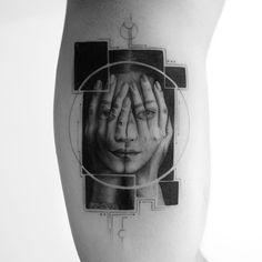 the Hungarian artist stretches the rules of tattoo design, combining multiple styles in his graphic creations with stunning visual results – the poetic beauty of the minimalism blends with the technical precision of hyper-realism within innovative geometric patterns.